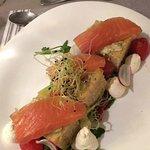 Focaccia saumon