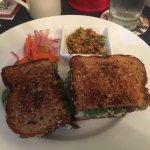 Orange Chicken Salad Sandwich