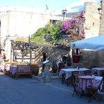 View from Ta Kiounia Restaurant