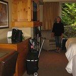Double queen room.