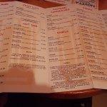Ottimi piatti e menu vario