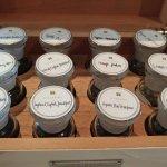 Tea Selection for the Afternoon Tea Menu