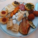 My plate of appetisers