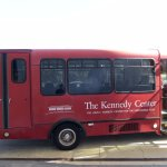 Look out for the (free) RED Shuttle-Bus at Foggy Bottom METRO Station