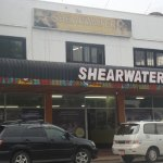 Shearwater office next to the Cafe