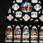 Rose Window of Baptism of Jesus by John the Baptist