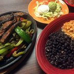 Fajitas with Beef & Black Beans