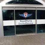 entrance to Royal Flying Doctor Service