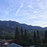 Mt. Kinabalu - View from the hotel reception area