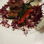Straccetti di manzo con verdure spadellate