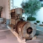 The old electric generator thast used to power the town or at least part of it!