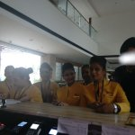 Jet Airways crew at Front Office