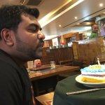 Complementary Birthday cake