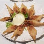 alcachofas frita