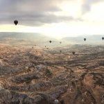 Hot air balloons tour