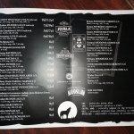 Karta piw