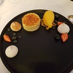 Panacotta Dessert in the Belleek