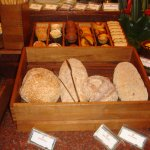 A wide selection of breads and pastries
