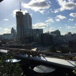 View to the Gherkin.