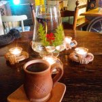 Taverna pie Sena Dzintara Cela Foto