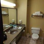 Plenty of Counter space & Good size bathroom