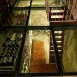 Wine cellar at restaurant!