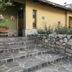This is the Front Entry Porch of our Casita