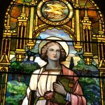 The Tiffany windows ,15, are beautiful.  According to the guide they are priceless.  It took app
