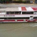 Le Danube depuis la terrasse