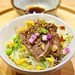 Rice from Qingshui, Taiwan beef cheek pot au feu, yam mush
