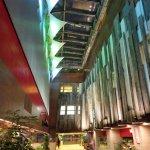 Amazing Hotel lobby design - Salisbury YMCA (30/Oct/17).