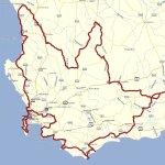 10 Day Cedarberg, Coastal & Tankwa route map
