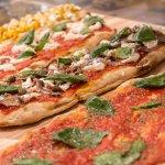 Pizze al trancio e tonde