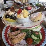 cathedral cream tea £12.50