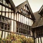 Inside Heaver Castle Courtyard