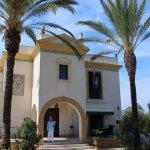 Entrance til Villa Sogno.