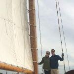 Sail Selina II- hoisting the sail!