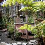 Temple Bath ~ Outdoor Shower and Forestside Spa Pavilion