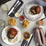 burgers and delicious cocktails