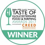 Gloucestershire Food & Farming Best Restaurant Award