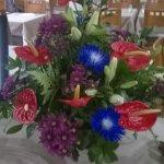 restarant flowers