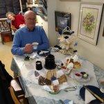 cakes, scones,jam and cream, strawberies cakes and Sandwiches