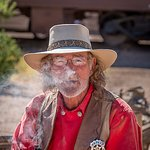 One of the many interesting people in Tombstone
