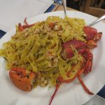 Out of a mouth of traveling from North to Southern Italy. My favourite meal, Fettuccine Astice