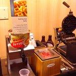 Waffle making station