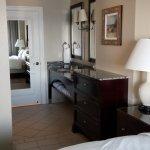 Entrance to bathroom in master bedroom Villa 5154