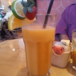 Yummy tropical smoothie