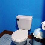 Double Fan Room - en suite toilet