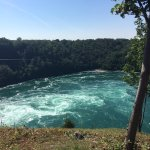 View of the huge whirlpool from the Rim Trail