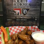 Our famous Decker Wings Wednesdays